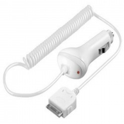Apple iPad Billader 12v Hvid