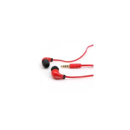 S-BOX EP-038 EarPhone M. Mikrofon rød
