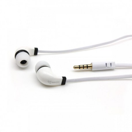 S-BOX EP-038 EarPhone M. Mikrofon hvid