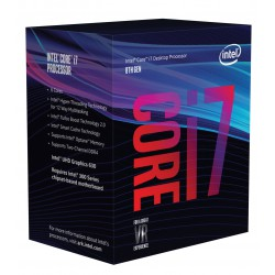 Intel Core i7-8700K 3,70GHz, 6 Cores 12M