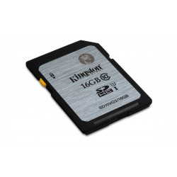 KINGSTON 16GB SDHC Class10 UHS-I 45MB/s