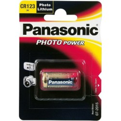 PANASONIC LITHIUM POWER CR123 batteri