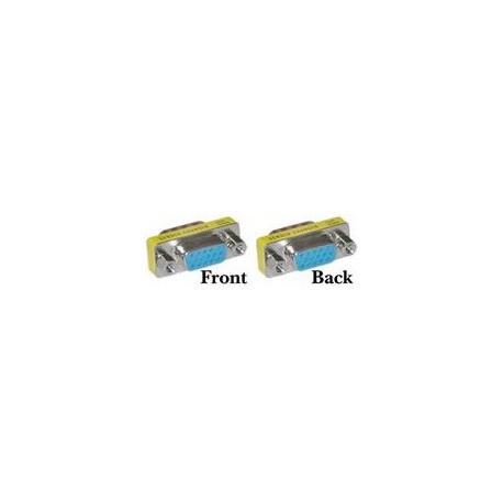Mini gender HD15 F/F VGA til VGA