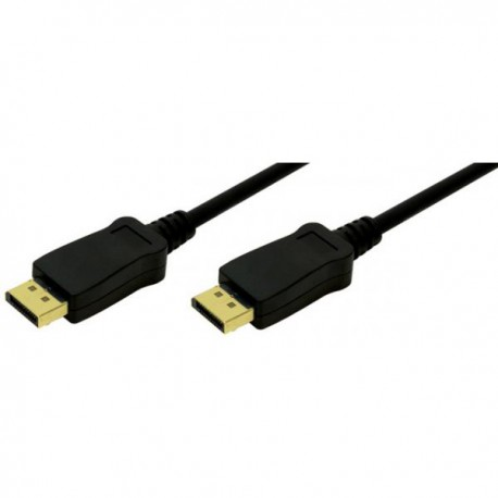 Display Port Cable 1m, sort