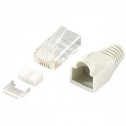 Modular Plug RJ45 Cat6 Shielded
