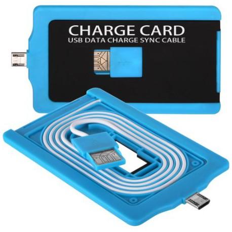 USB Chargecard til Micro USB