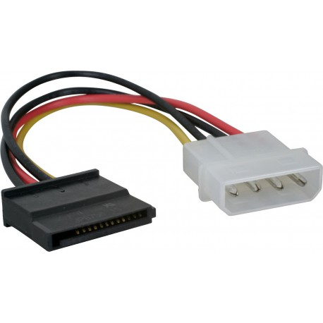 Power Cable, internal, SATA til Molex
