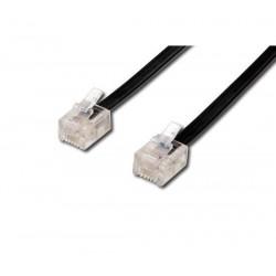 MicroConnect ModularCable RJ11 6m