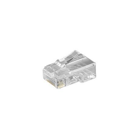 RJ 11 modular stik, 4 pol, uskærmet