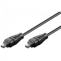 FireWire 800 kabel 4 pol han/9pol han 5m