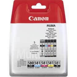 Canon PGI-580 PGBK CLI-581 Multipack 5st