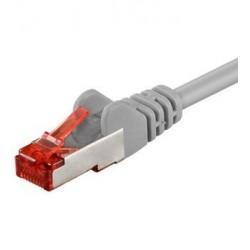 Goobay 5m S/FTP Cat 6 kabel, Grå