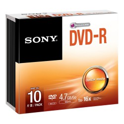 Sony DVD-R 4,7GB 10stk