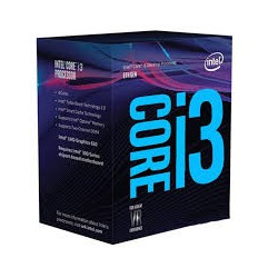 Intel Core i3-8100 3,6GHz 4 kerner 65W